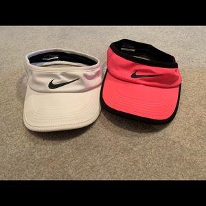 two NWOT visors
